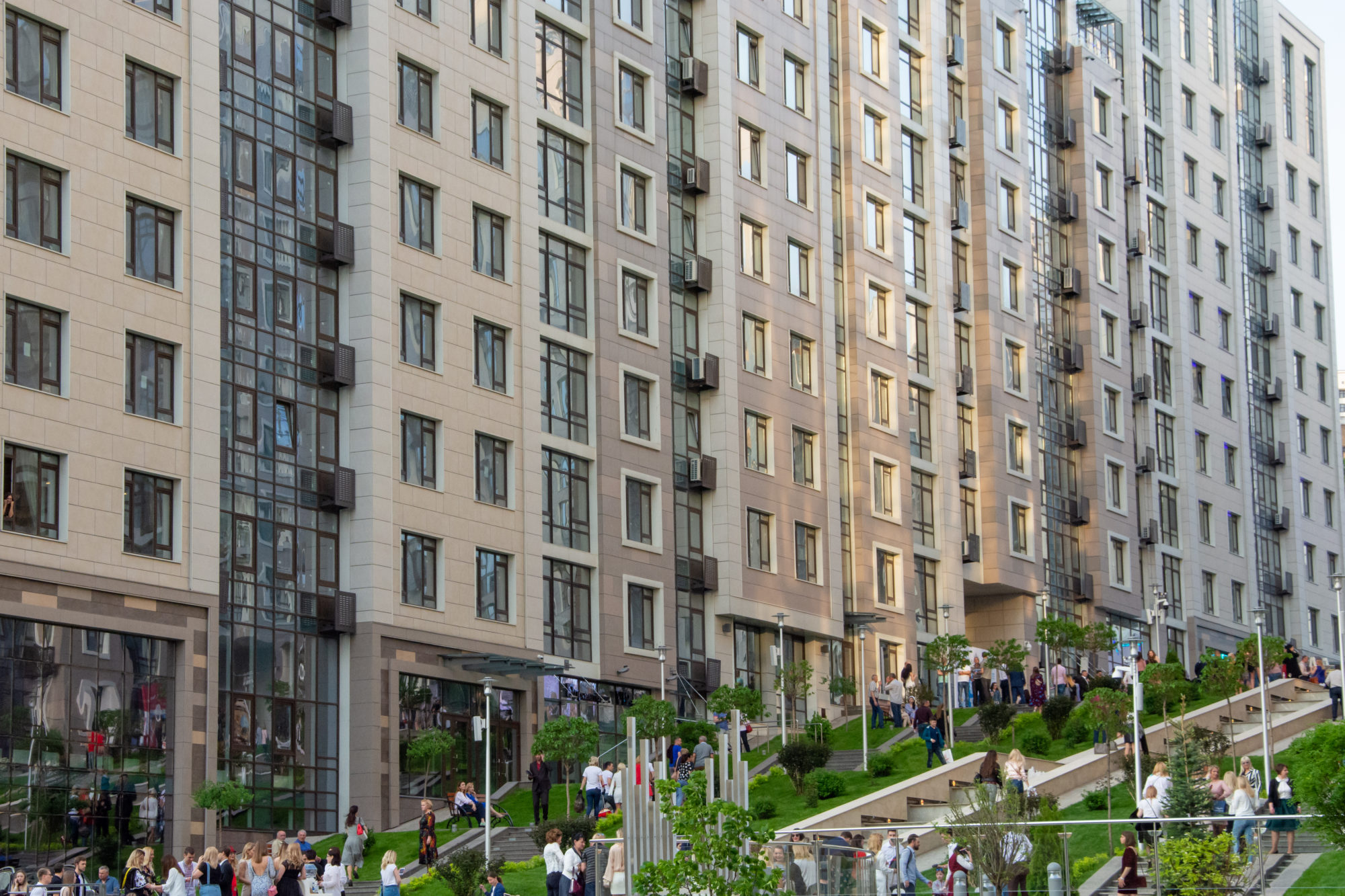 ЖК Бульвар фонтанов Фасады АМТТ